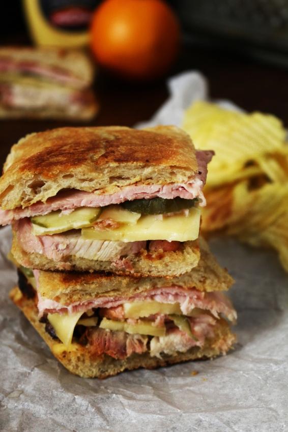 豬肉mojo古巴三明治