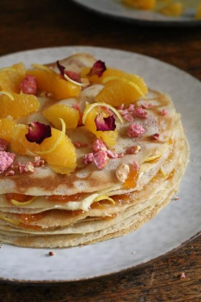 Chef家常甜點-Jean-François Piège柑橘風味薄餅