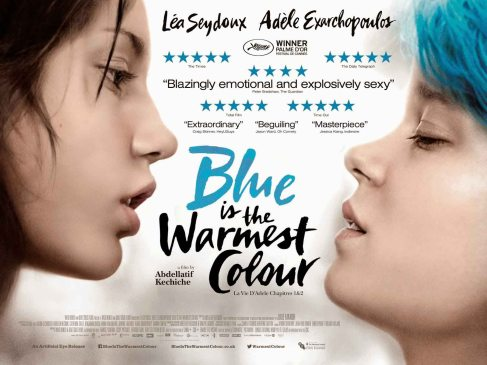 La vie d'Adele bleu is warmest colour