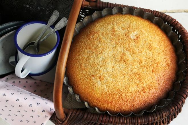 優格椰子蛋糕GÂTEAU AU YAOURT À LA NOIX DE COCO