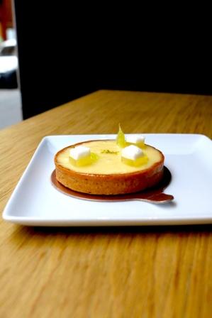 Tarte au citron Thierry Marx