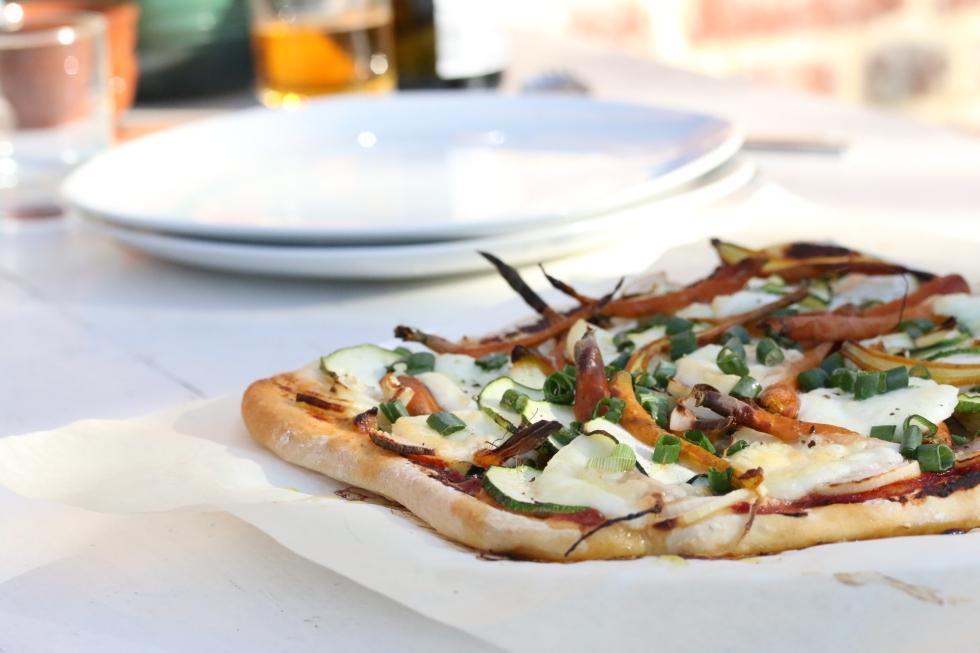 菜園蔬菜Pizza