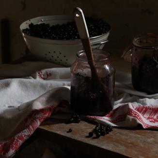 家常黑醋栗甜漿酒LIQUEUR DE CASSIS MAISON