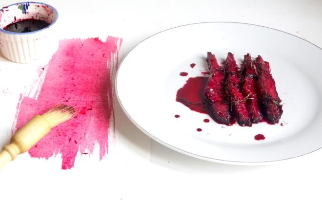 甜菜根堆漬鮮鮭魚GRAVELAX DE SAUMON À LA BETTERAVA-2