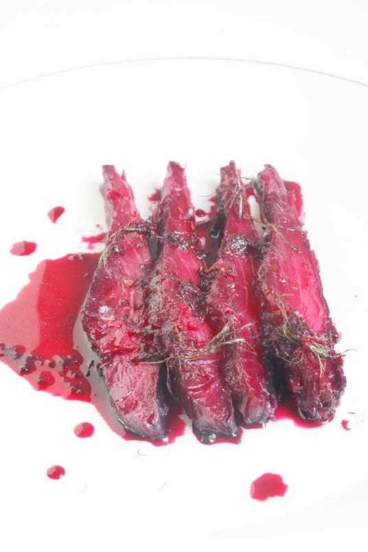 甜菜根堆漬鮮鮭魚GRAVELAX DE SAUMON À LA BETTERAVA-4