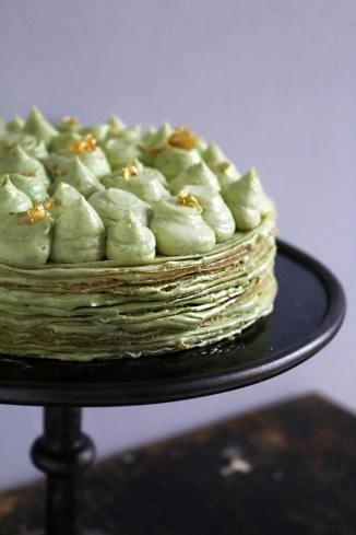 抹茶千層薄餅蛋糕