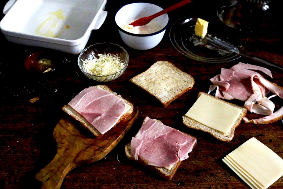 烤乳酪嗑先生CROQUE- MONSIEUR AU FOUR-7