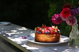 紅莓果白乳酪蛋糕 GÂTEAU AU FROMAGE BLANC AUX FRUITS ROUGES-2