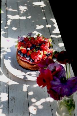 紅莓果白乳酪蛋糕 GÂTEAU AU FROMAGE BLANC AUX FRUITS ROUGES-3