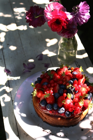 紅莓果白乳酪蛋糕 GÂTEAU AU FROMAGE BLANC AUX FRUITS ROUGES-4