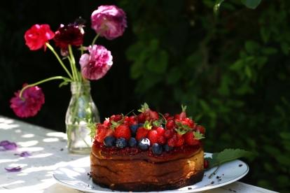 紅莓果白乳酪蛋糕 GÂTEAU AU FROMAGE BLANC AUX FRUITS ROUGES-6