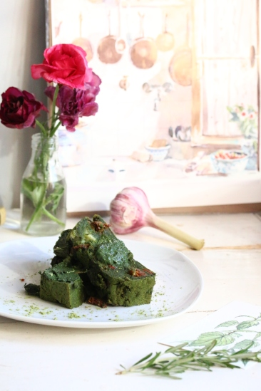 蕁痲葉Mozzarella鹹蛋糕 CAKE AUX ORTIES-4
