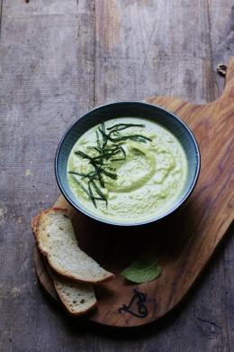冰冷碗豆濃湯-1