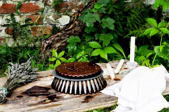 巧克力櫛瓜蛋糕-2